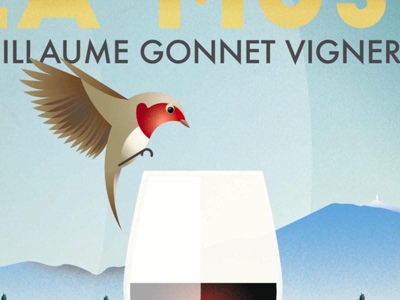 Affiches Guillaume Gonnet Vigneron